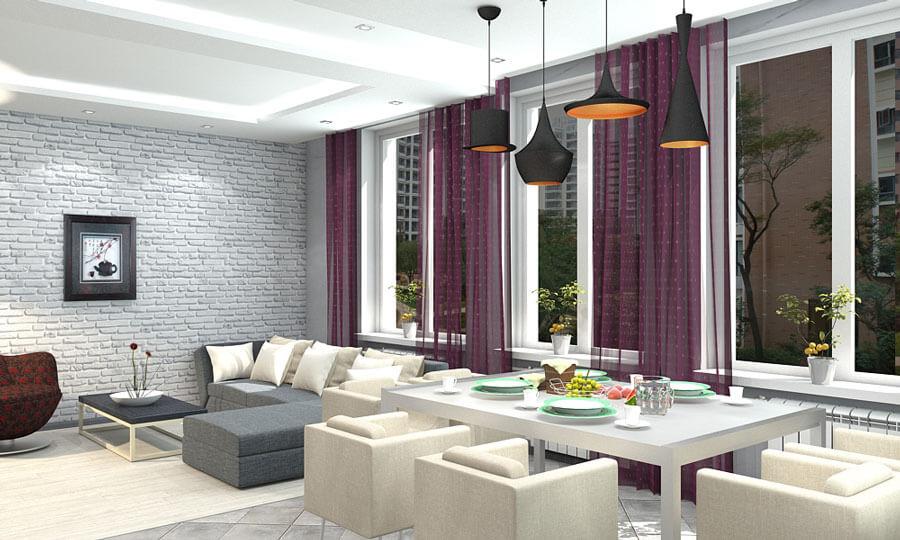 дизайн дома в стиле хай-тек