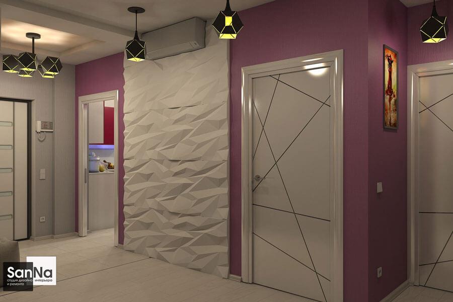 дизайн квартиры в стиле китч