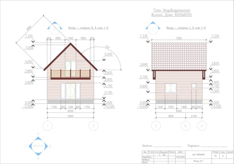 Проектирование частных домов
