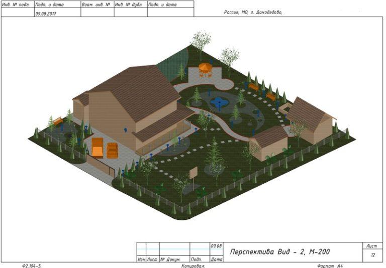 Ландшафтный дизайн участка