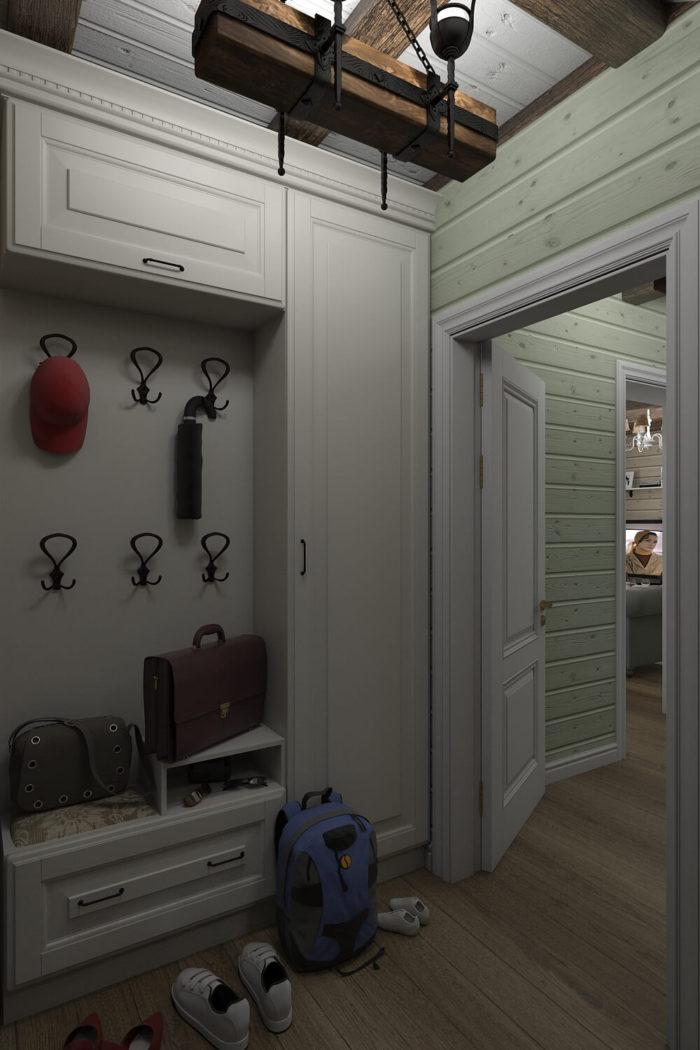 Дизайн интерьера дома Кантри