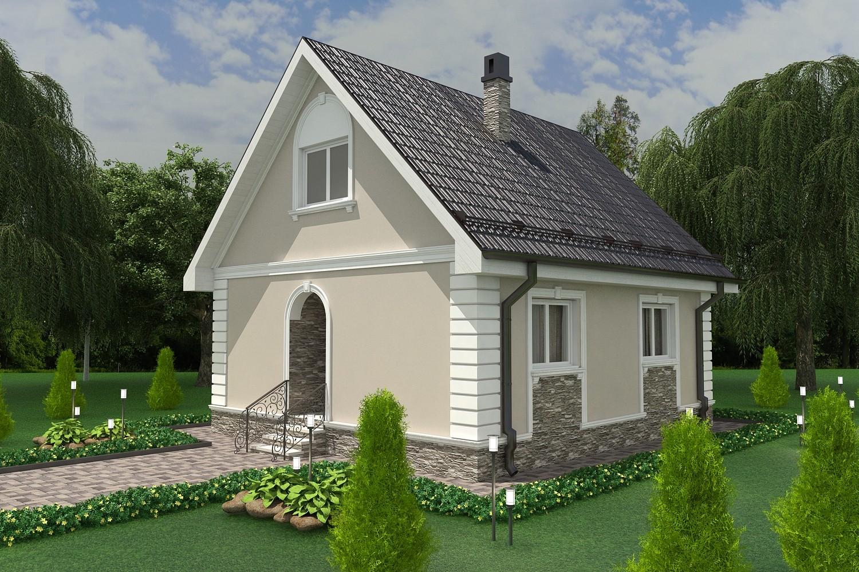 Проект дома10х12