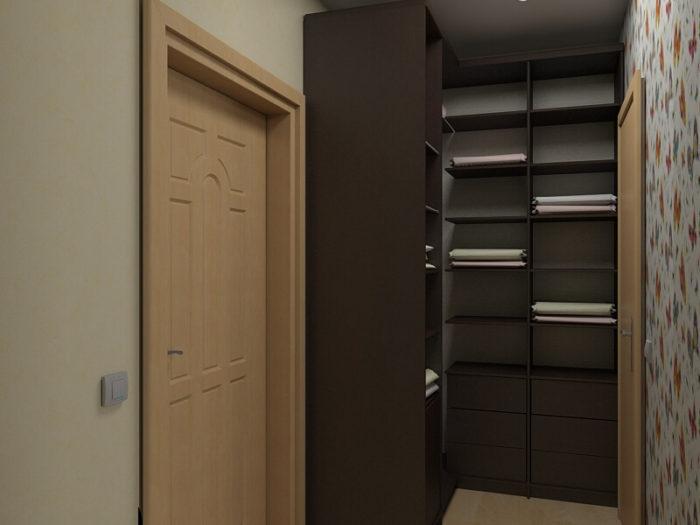 Дизайн интерьера однокомнатной квартиры 33 кв.м.