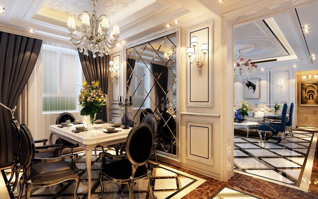 Дизайн квартиры в классическом стиле