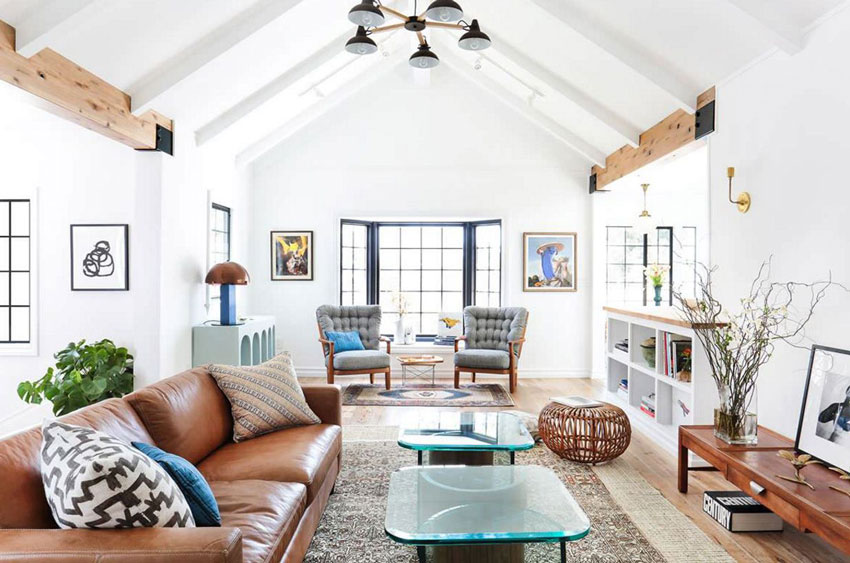 Скандинавский стиль в интерьере частного дома