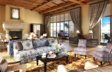 Средиземноморский стиль в интерьере частного дома