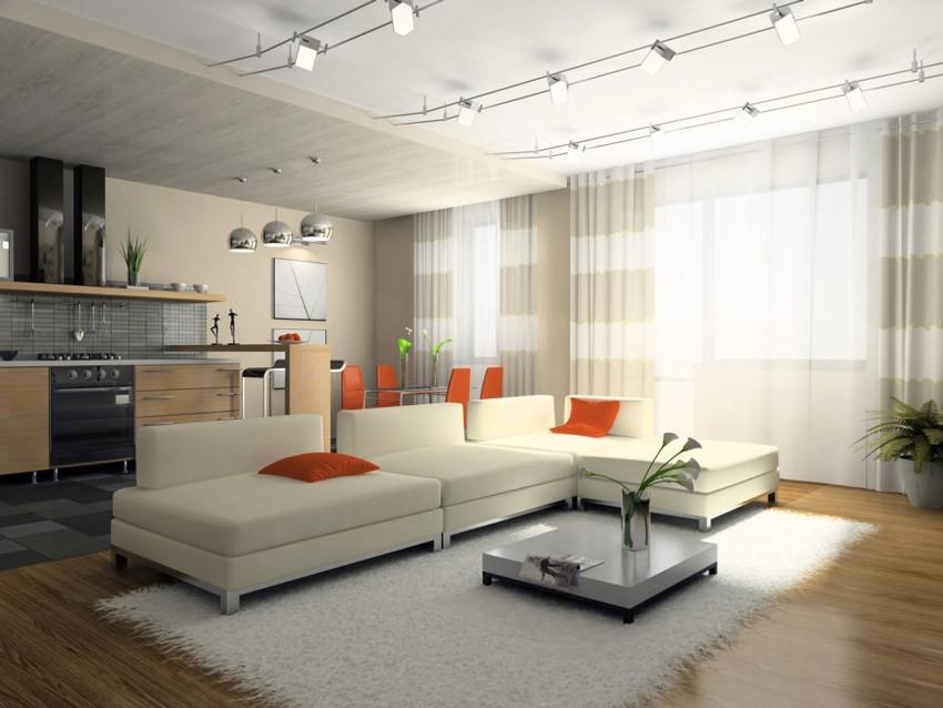 Стиль контемпорари в интерьере квартиры