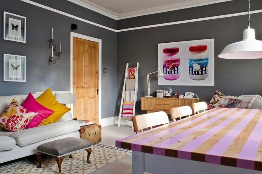 Стиль эклектика в интерьере квартиры