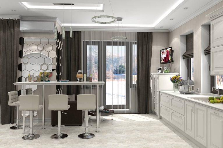 неоклассический стиль в интерьере квартиры