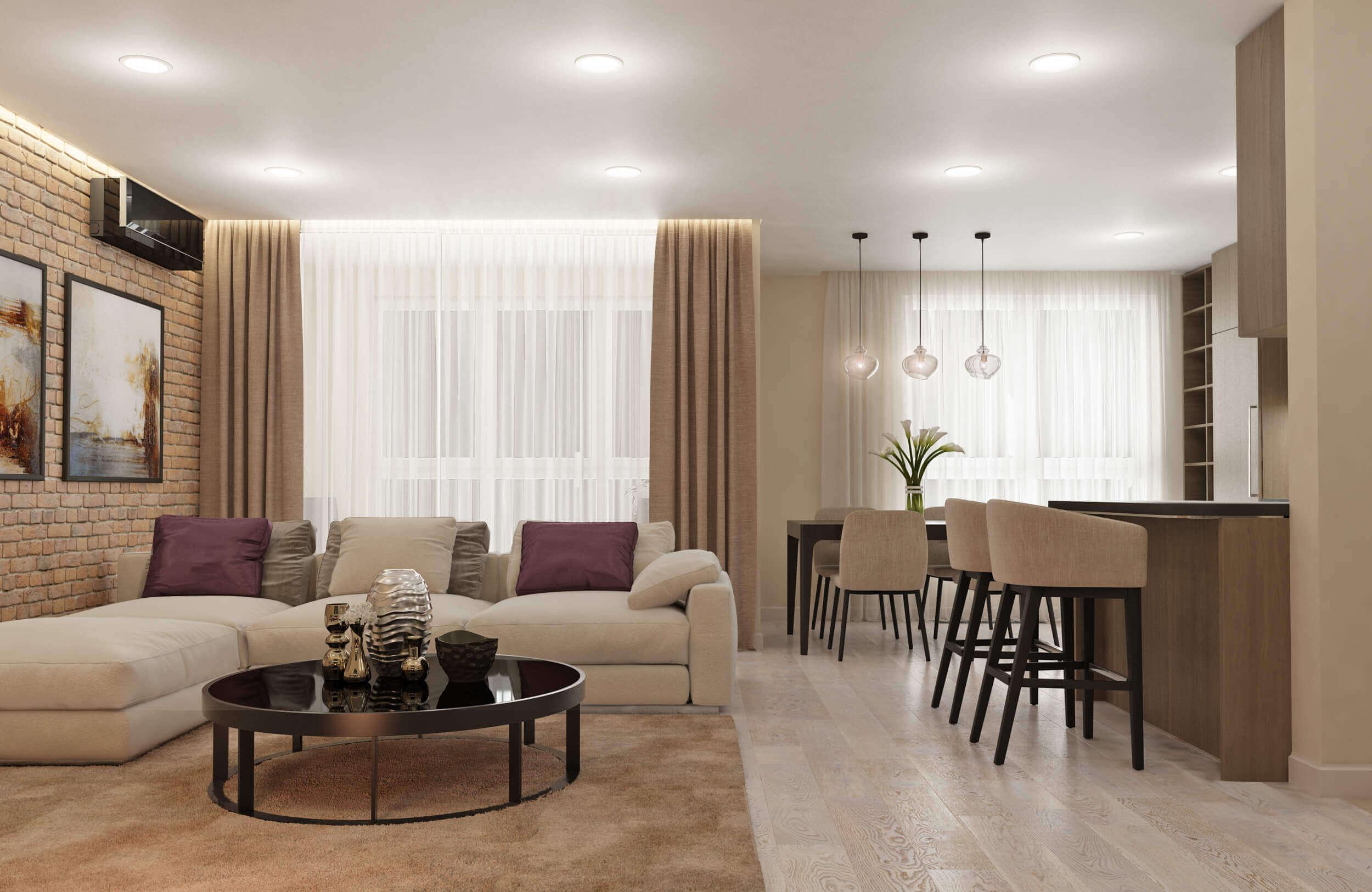 Разработка визуального проекта квартиры