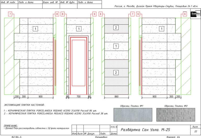 пример дизайна интерьера под ключ