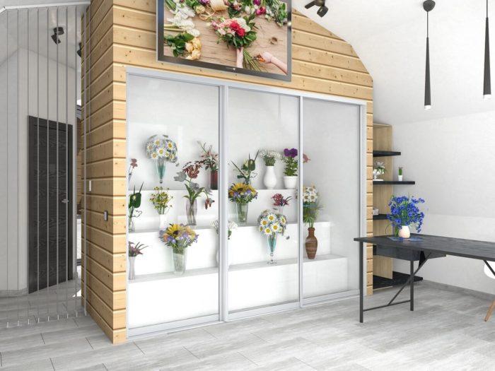 дизайн проект цветочного магазина