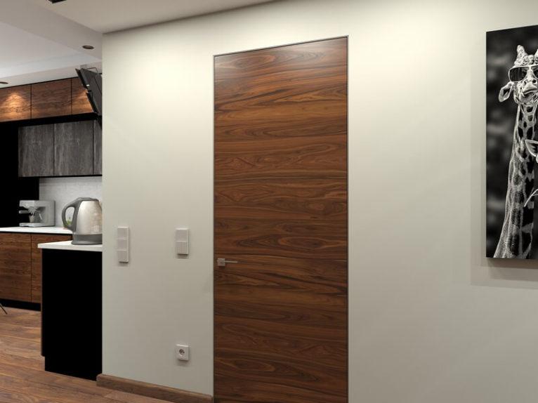 Дизайн интерьера кухни-прихожей в стиле лофт