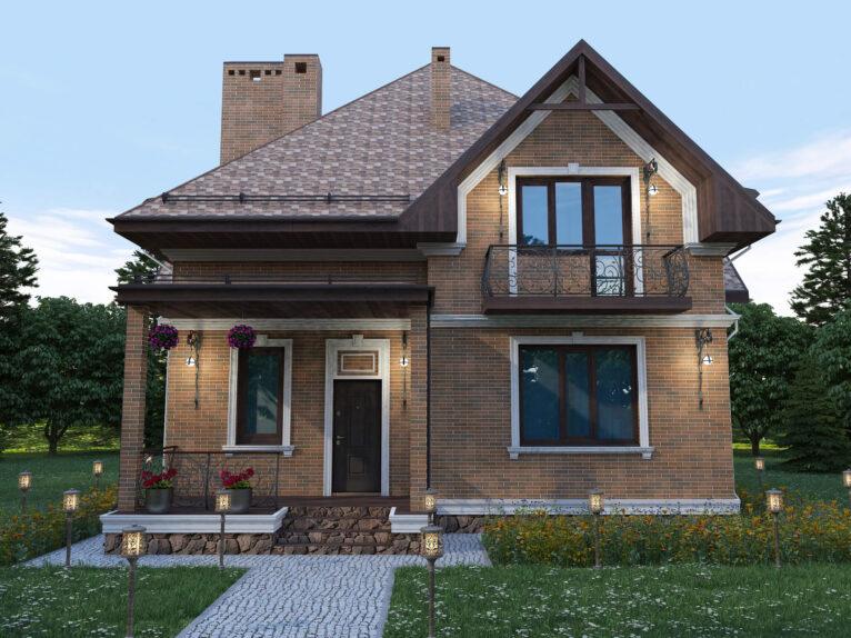Дизайн экстерьера жилого дома